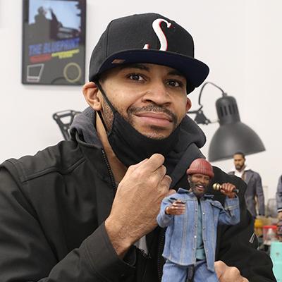 6abc: Philly artist sculpts lifelike figures of black heroes
